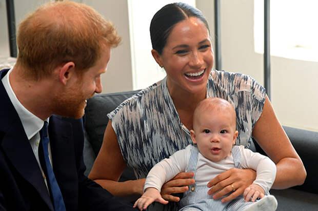Меган Маркл и принц Гарри поздравили сына Арчи с днем рождения и рассекретили его прозвище