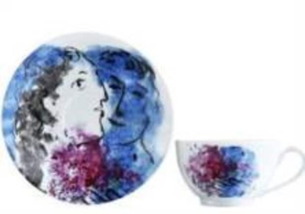 Bernardaud создал коллекцию, посвященную Шагалу