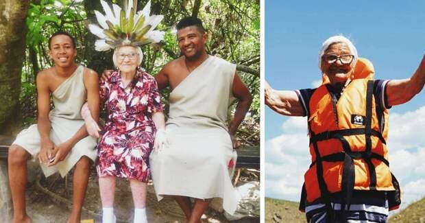 Баба Лена, которая гуляла сама по себе: история 91-летней путешественницы из Красноярска