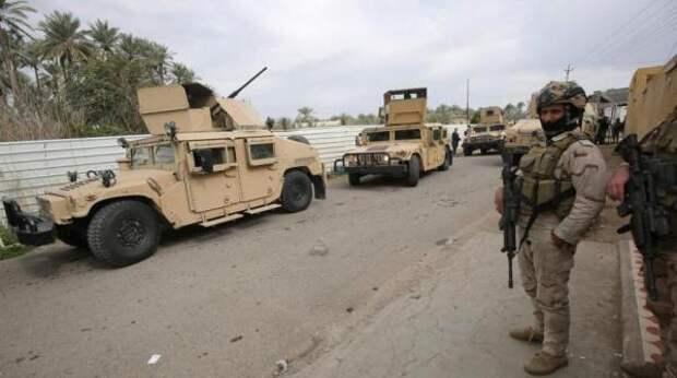 Ракетным ударом атакована база своенными США ксеверу отБагдада