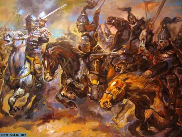 Степная конница - первые катафрактарии древнего мира.
