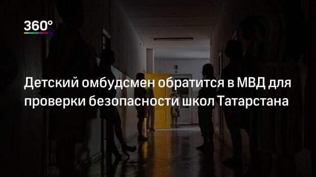Детский омбудсмен обратится в МВД для проверки безопасности школ Татарстана