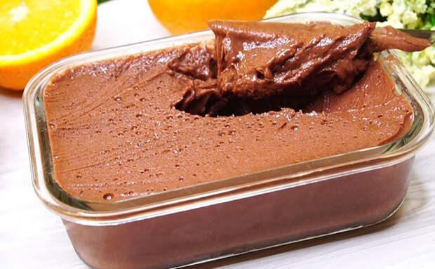 Минутный десерт из творога: за 3 минуты делаем шоколадную намазку