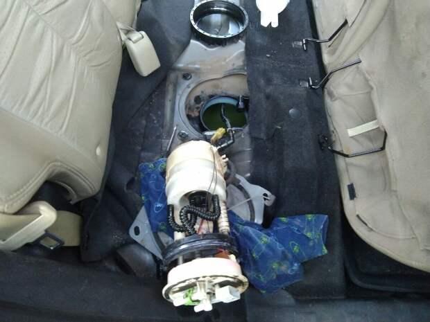 Ремонт датчика уровня топлива Nissan x-trail ii (t31): болячка, которая лечится