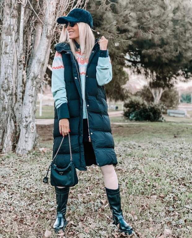 Почему стеганый жилет стал хитом среди верхней одежды на весну: какой жилет выбрать, с чем носить