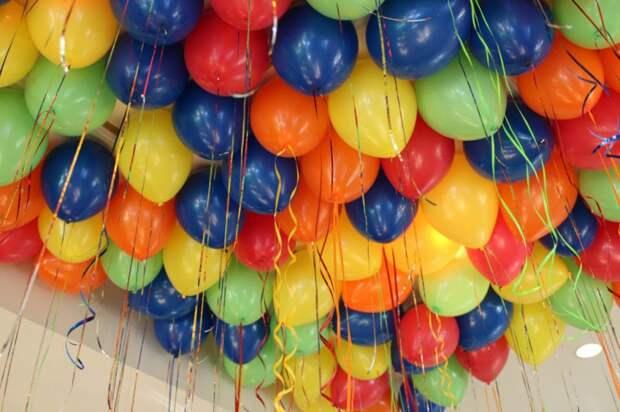 Ночная доставка шаров с гелием