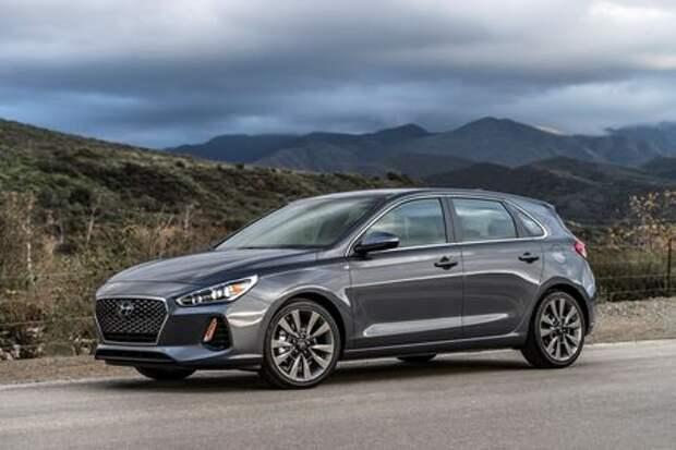 Европейское с американским: Hyundai представила хэтчбек Elantra GT