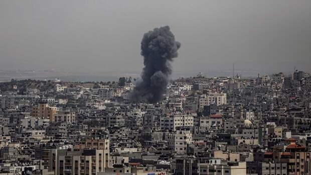 Израиль заявил о ракетном ударе по офисам и домам лидеров ХАМАС