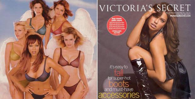 Эволюция каталога нижнего белья Victoria's Secret