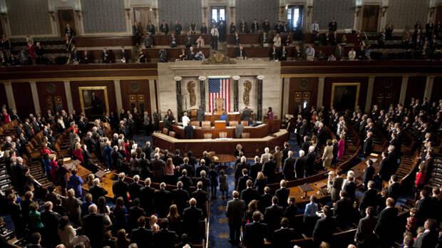 О резолюции Конгресса США № 758. Вашингтон толкает европейцев к большой войне