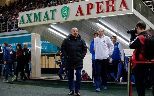 Черчесов: «Надеюсь, через год-два «Ахмат» будет в еврокубках. «Ахмат Арена» — один из лучших стадионов Европы»