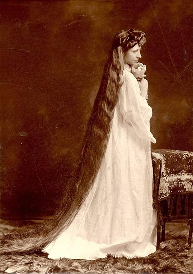 Rapunzels15 История красоты — известные «рапунцели» XIX века