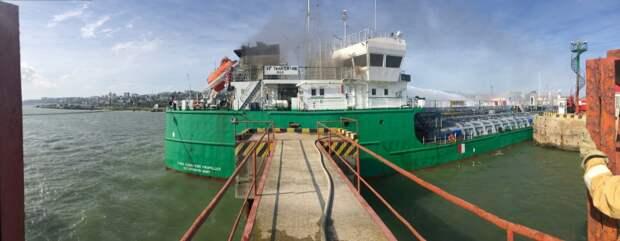 Уголовное дело возбудили после взрыва с погибшими на танкере в Махачкале