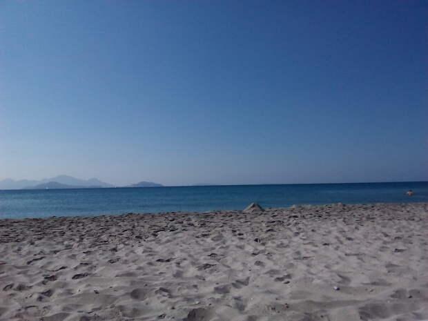 Греция, о. Кос осенью (сентябрь).