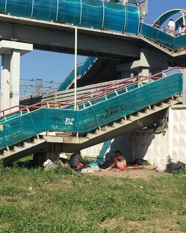 «Дом отдыха» под мостом в Лосинке закроют