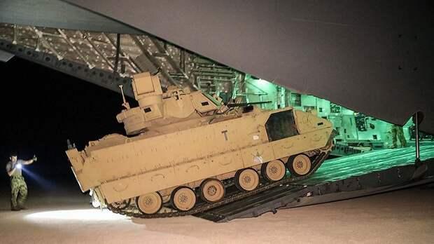 США направили в Сирию бронетехнику для обеспечения безопасности своих войск