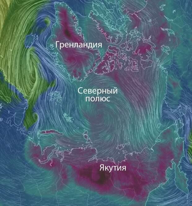 Холод приходит из-под земли! В Якутии и Гренландии.