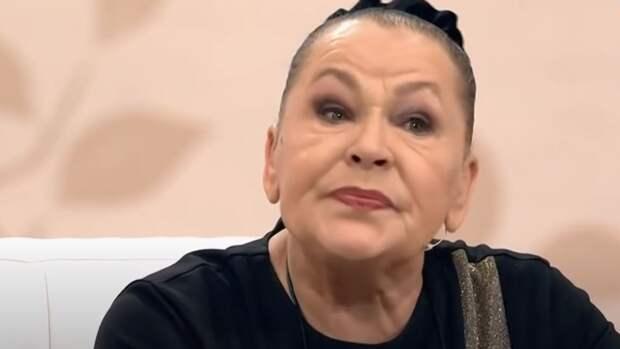 Воспоминания о сыне довели Рязанову до слез в шоу Кудрявцевой