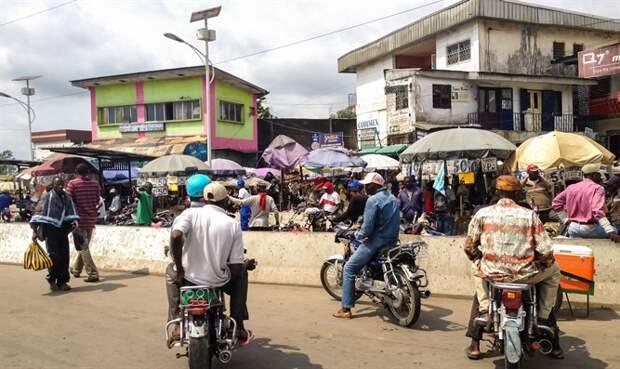 Камерун. Иллюстрация