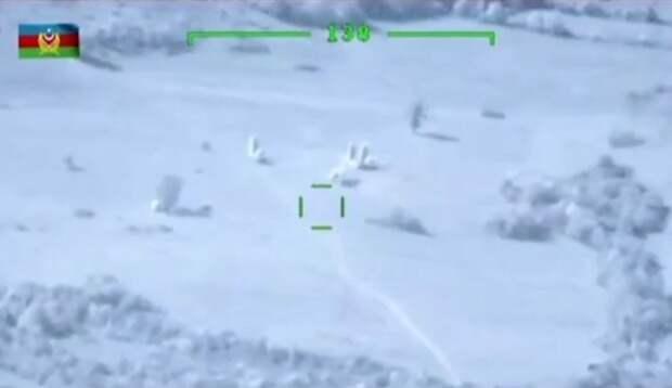 Уничтожение С-300 Азербайджаном показали на видео