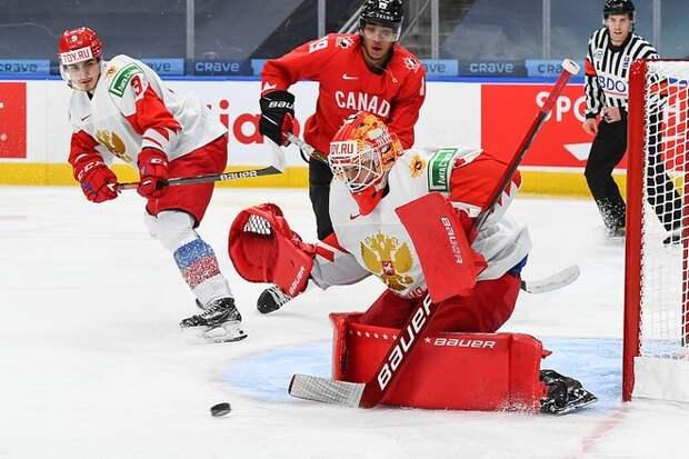 Молодежная сборная России по хоккею проиграла Канаде в полуфинале чемпионата мира
