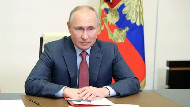 Путин призвал прекратить насилие в палестино-израильском конфликте