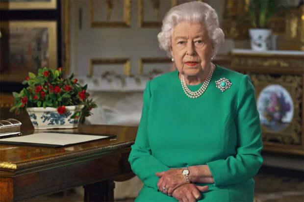 Королева Великобритании пожелала счастья принцу Гарри