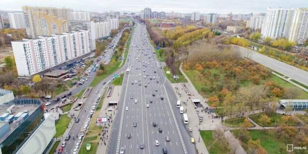 Проезжая часть/ фото: mos.ru