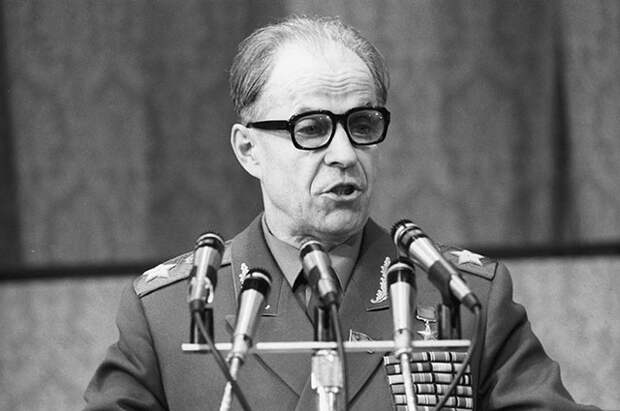 Сергей Федорович Ахромеев. 1983 г.