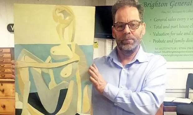 Повезло, так повезло: мужчина купил оригинал Пикассо по цене старой картинной рамы