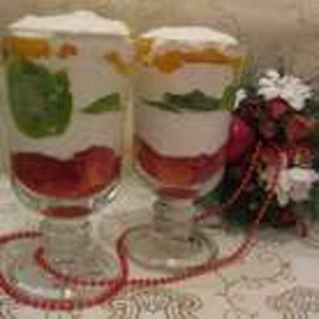 Десерт ставим в холодильник на 1 час, для охлаждения. Можно сверху украсить тертым шоколадом. Приятного аппетита!
