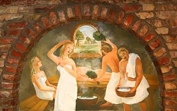 Действительно ли бани на Руси были общими для мужчин и женщин?