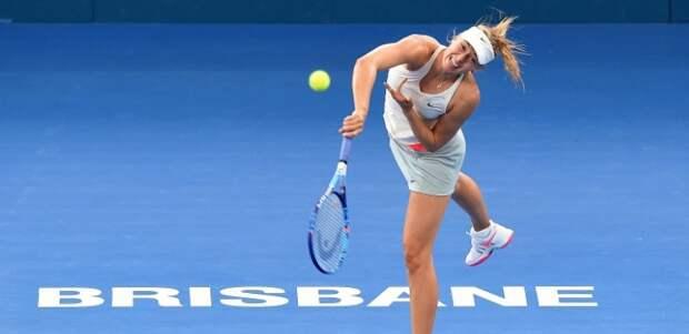 Шарапова выиграла турнир в австралийском Брисбене