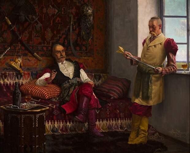 Скорее всего моду на сарматские прически казаки почерпнули у польской знати. |Фото: blog.peramuzesi.org.tr.