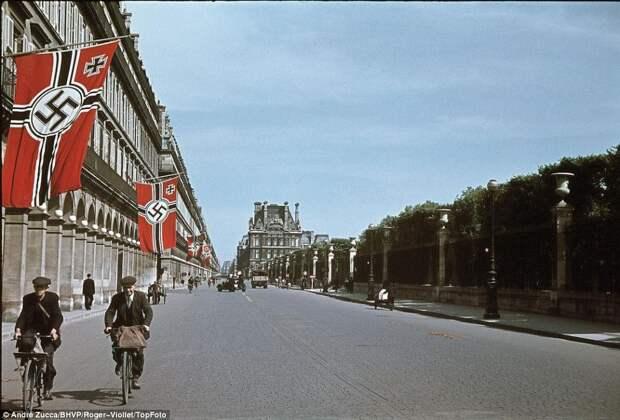 Париж во время фашистской оккупации