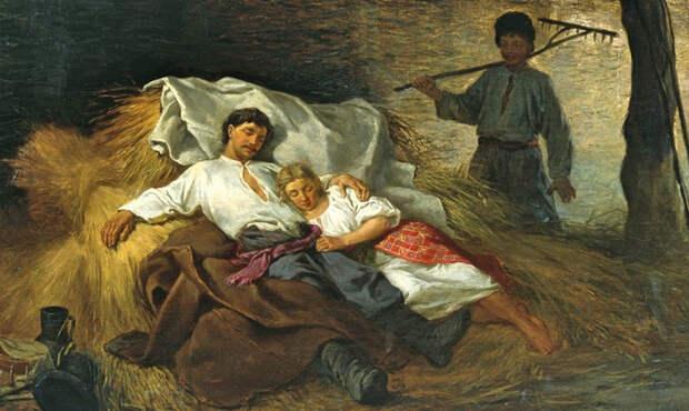 «Грех пока ноги вверх»: интимные традиции на Руси
