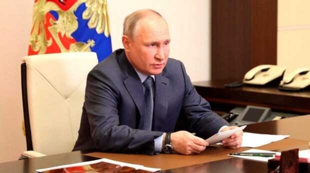 Путин сообщил о военных рисках у границ России