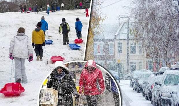 Долгосрочный прогноз погоды на предстоящую зиму: к чему следует подготовиться Британцам