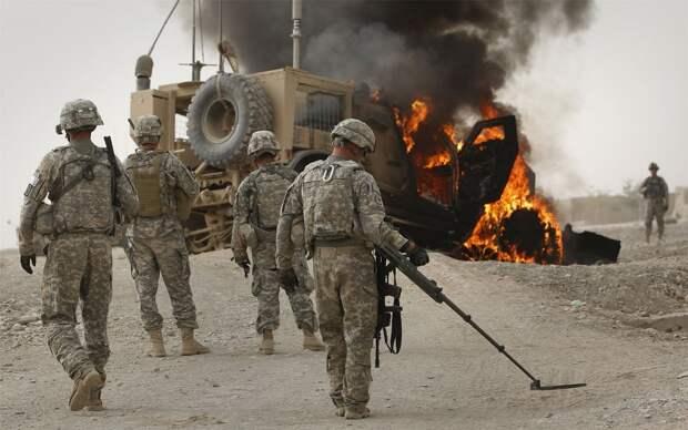 Американские войска были атакованы на юге Багдада