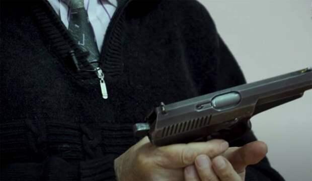 Стрелковое оружие, разработанное после распада СССР: Самозарядный пистолет Сердюкова с боеприпасом повышенной мощности