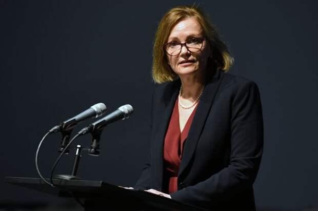 Британский посол Дебора Броннерт посетила МИД России