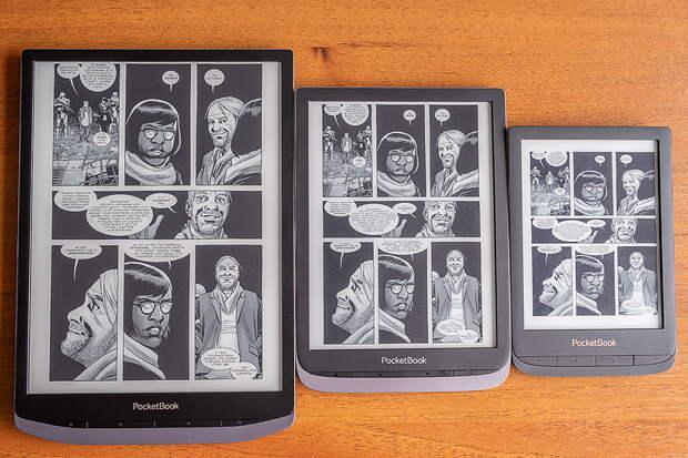 Актуальные модели электронных книг