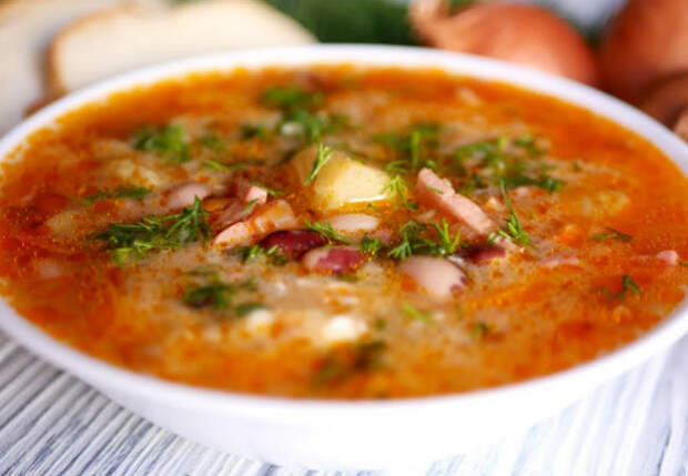 Суп посольский: обед как у депутата
