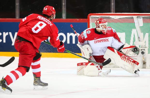 Россия обыграла Данию на ЧМ-2021 по хоккею