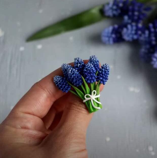 Как сделать мускарики из полимерной глины