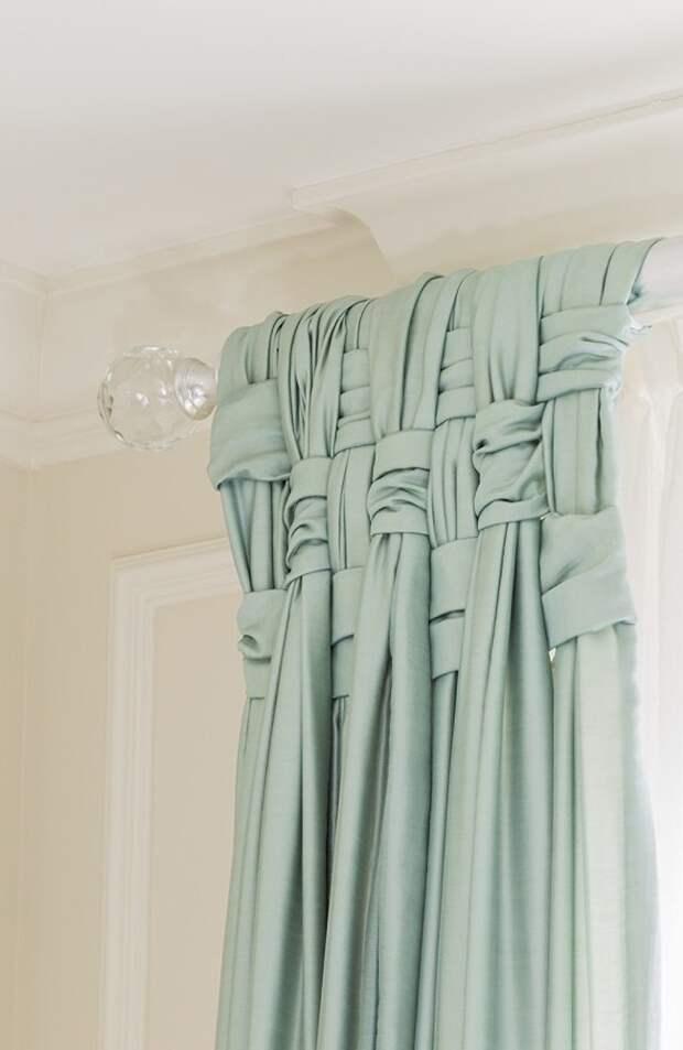 20 способов красиво повесить шторы