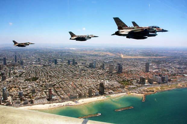 Израильские ВВС снова провели разведывательные полеты над Бейрутом