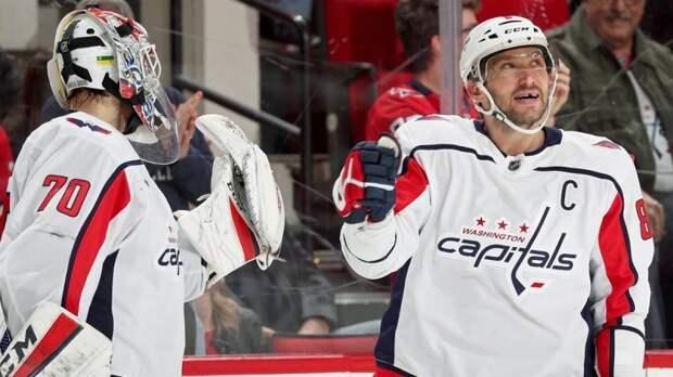 Орлов и Овечкин отметились результативными действиями в матче против «Бостона»