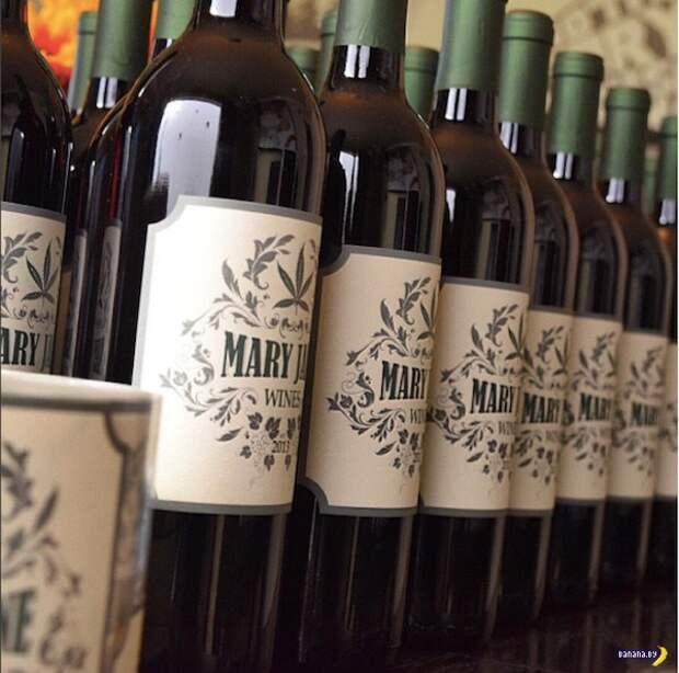 Canna Vine — вино с марихуаной