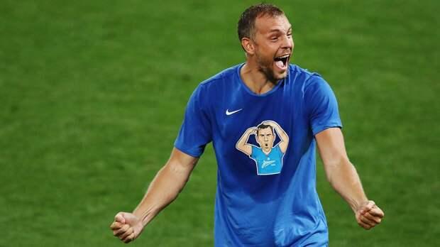 Дзюба вошел в тройку лучших игроков «Зенита» по системе «гол+пас» в истории чемпионатов России